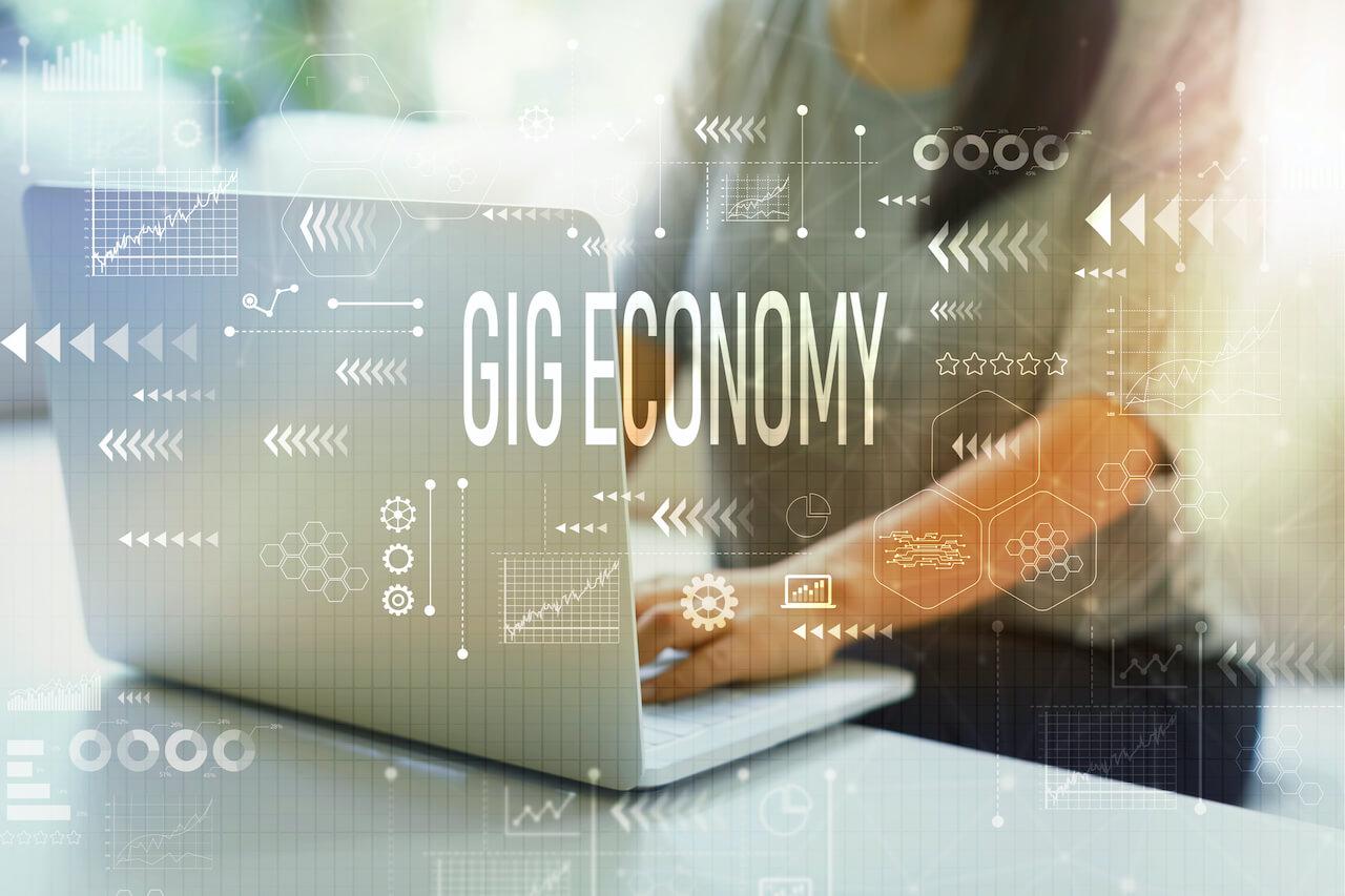 Gig workers gig economy covid WFH Gen Z