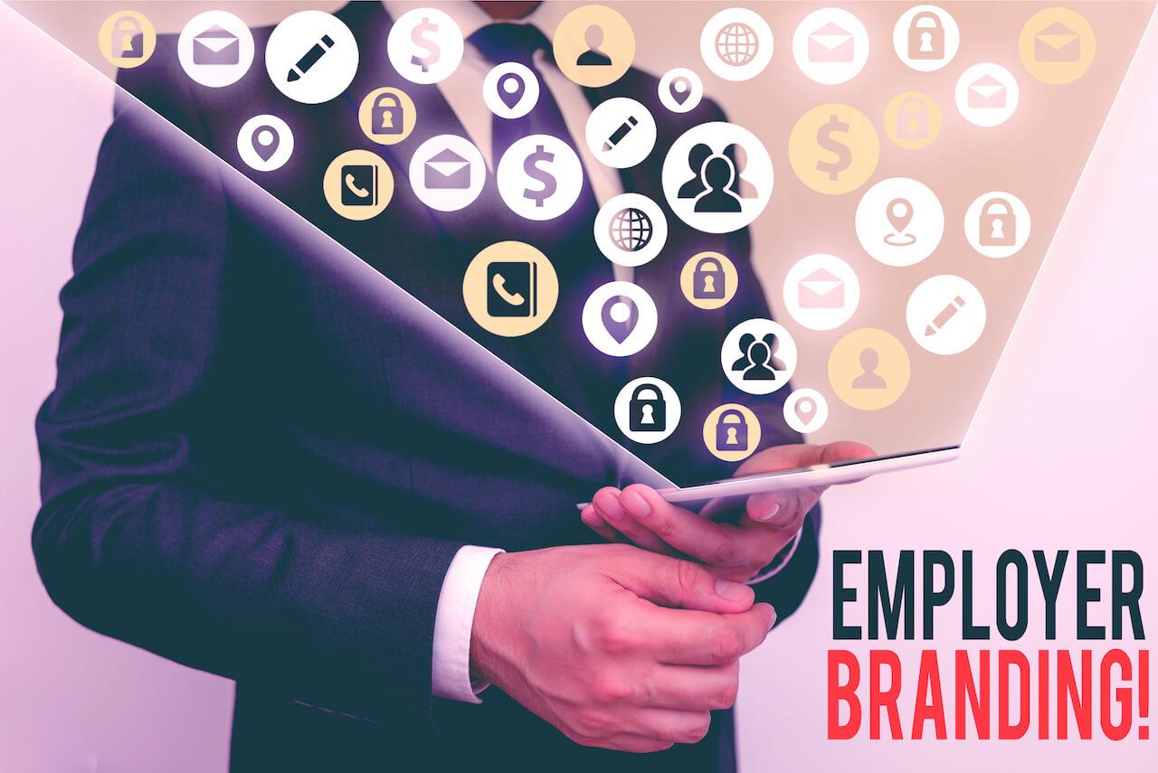 Virtual job fair employer brand