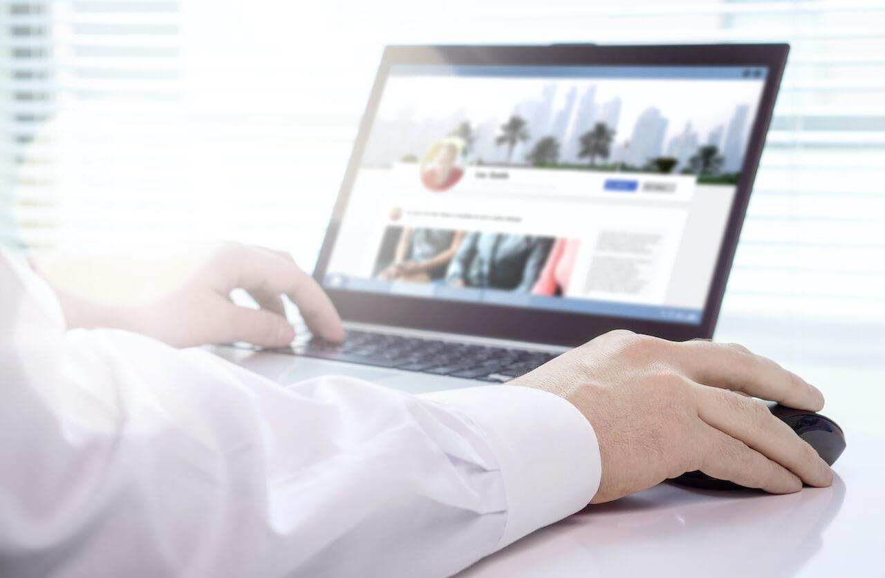 Job applicant social media profile screening